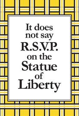 No R.S.V.P.