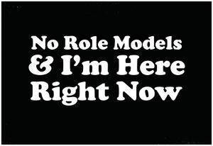 No Role Models