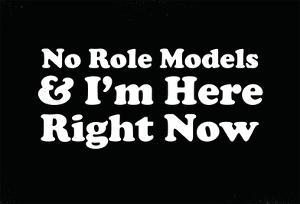 No Role Models