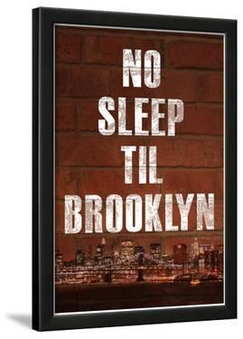 No Sleep Til Brooklyn Music Poster