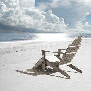 Solitary Beach Chair by Noah Bay