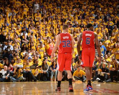 2014 NBA Playoffs Game 6: May 1, Los Angeles Clippers vs Golden State Warriors - Blake Griffin by Noah Graham