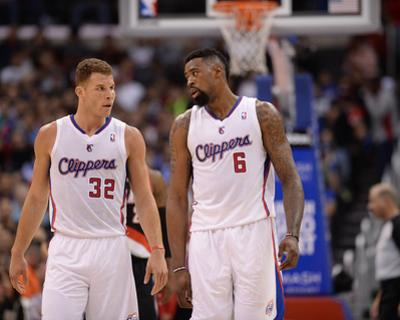 Feb 12, 2014, Portland Trail Blazers vs Los Angeles Clippers - Blake Griffin, DeAndre Jordan by Noah Graham