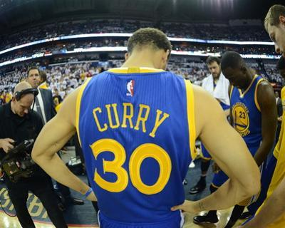 Golden State Warriors v New Orleans Pelicans - Game Four by Noah Graham