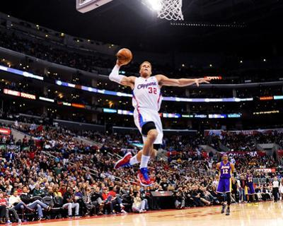Los Angeles, CA - January 4: Blake Griffin by Noah Graham