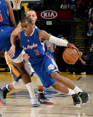 Los Angeles Clippers v Golden State Warriors by Noah Graham