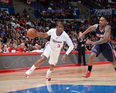 Mar 8, 2014, Atlanta Hawks vs Los Angeles Clippers - Chris Paul by Noah Graham