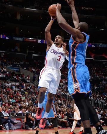 Oklahoma City Thunder v Los Angeles Clippers by Noah Graham