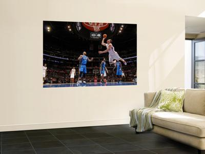 Orlando Magic v Los Angeles Clippers: Blake Griffin, Jameer Nelson, Dwight Howard and Mickael Pietr by Noah Graham