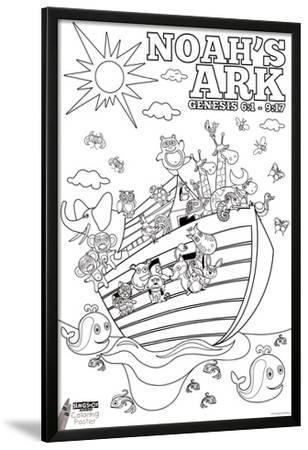 Noah's Ark Coloring