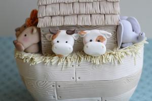 Noah's Ark Cows Close Up