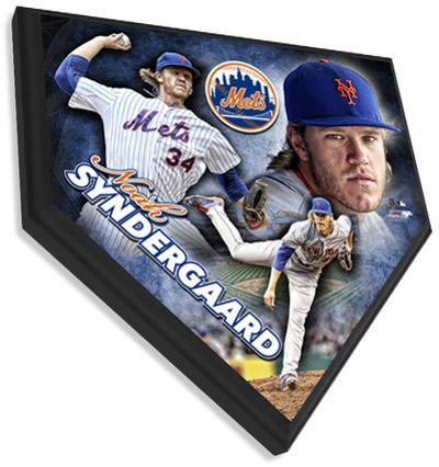 Noah Syndergaard Home Plate Plaque