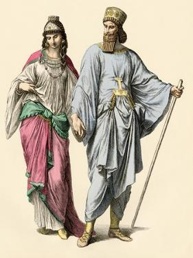 Nobles of Ancient Media, Part of the Assyrian and Persian Empires