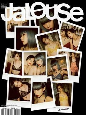 Jalouse, December 2009-January 2010 - Yulia et U by Nobuyoshi Araki