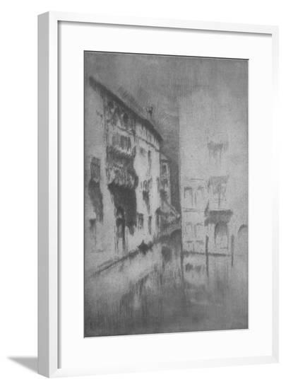 'Nocturne - Palaces', 1878, (1904)-James Abbott McNeill Whistler-Framed Giclee Print
