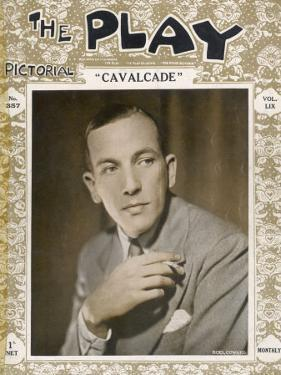 """Noel Coward at the Time of His Play """"Cavalcade"""" in 1931"""