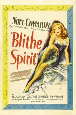 "Noel Coward's, 1945, ""Blithe Spirit"" Directed by David Lean"