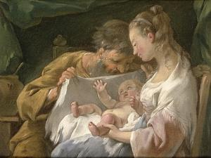 The Holy Family by Noel Halle