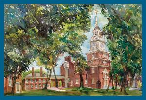 Independence Hall by Noel Miles