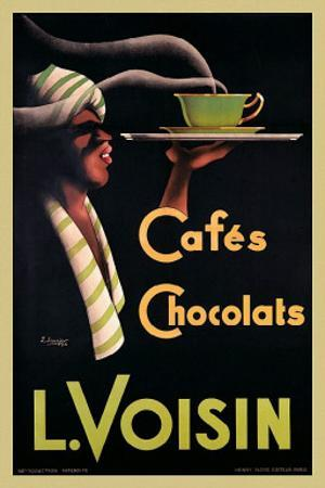 L. Voisin Cafes and Chocolats, 1935