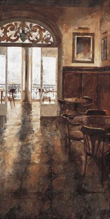 Grand Cafe Cappuccino II by Noemi Martin