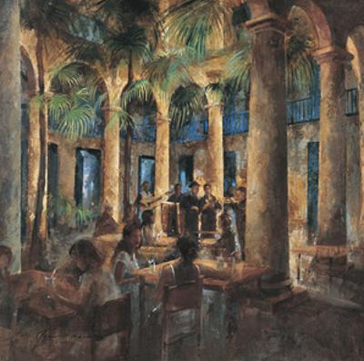Palm Tree Cafe by Noemi Martin