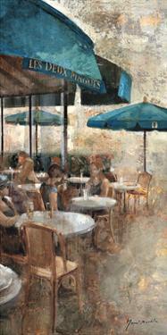 Terraza Café Les Deux Magots by Noemi Martin