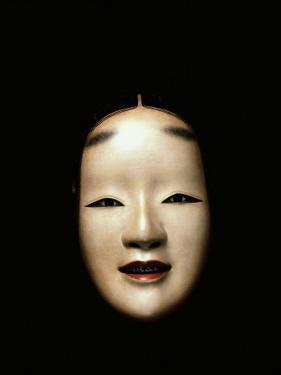 Noh Mask, Woman, Japan