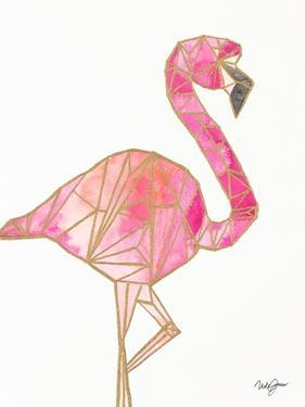 Origami Flamingo by Nola James