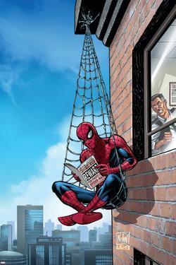 Marvel Adventures Spider-Man No.51 Cover: Spider-Man by Nolan Graham