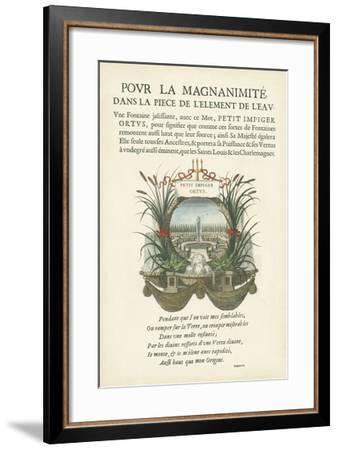 Non-Embellished Bookplate II--Framed Giclee Print