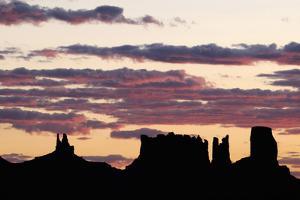 Monument Valley, Navajo Tribal Lands, Utah, Usa by Norbert Eisele-Hein