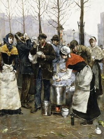 Soup for the Masses on a Winter Day, Paris, 1881