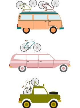 Cars Transporting Bicycles by Norbert Sobolewski