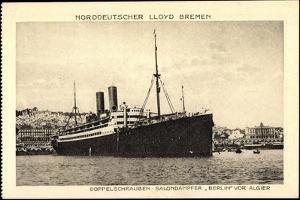 Norddeutscher Lloyd Bremen, Dampfer Berlin Vor Algier