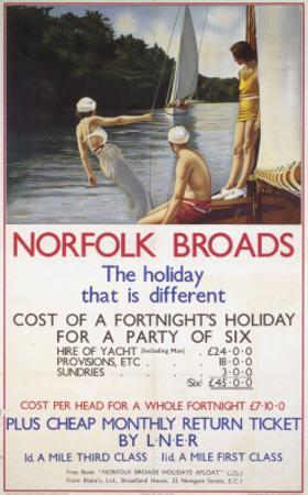 Norfolk Broads the Holiday That Is Different