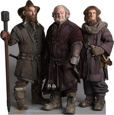 Nori, Dori, Ori The Dwarfs - The Hobbit Movie Cardboard Stand Up