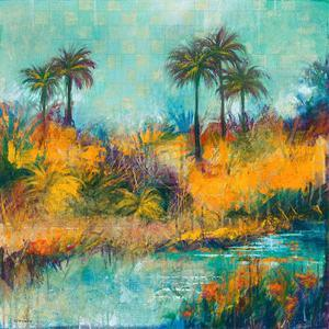 Tropical Evening II by Norm Daniels