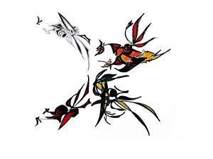 Bugs in Flight by Norma Kramer