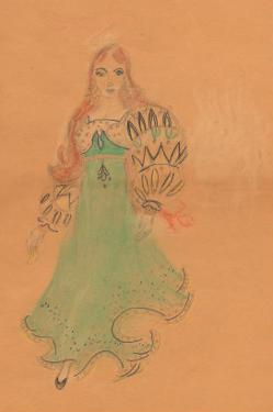 Flamenco Dancer by Norma Kramer