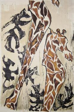 Giraffes by Norma Kramer