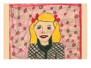 Golden Hair Girl by Norma Kramer