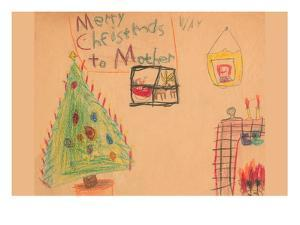 Merry Christmas To Mother by Norma Kramer