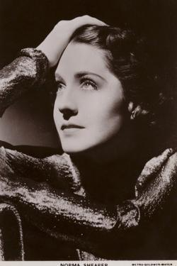 Norma Shearer, Canadian-American Actress and Film Star