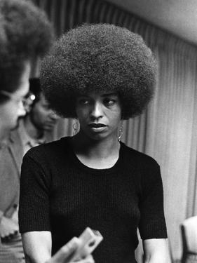 Angela Davis - 1972 by Norman Hunter