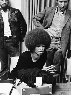 Angela Davis -1972 by Norman Hunter