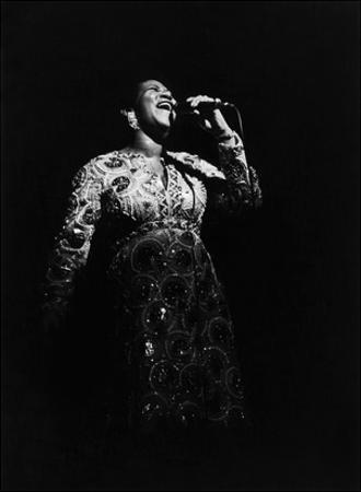 Aretha Franklin by Norman Hunter
