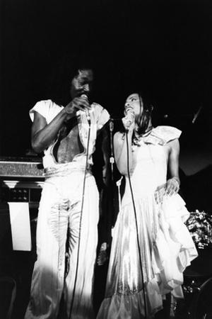 Ashford and Simpson, 1977 by Norman Hunter