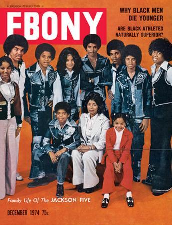 Ebony December 1974 by Norman Hunter