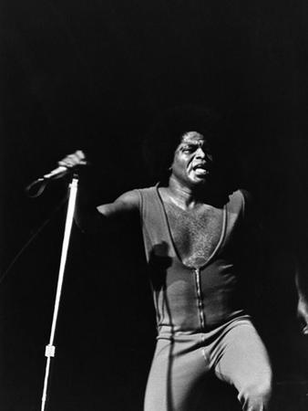 James Brown - 1972 by Norman Hunter